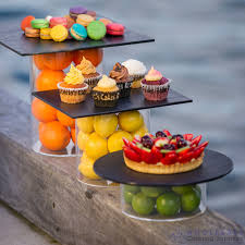 Presentation Foods Details About Display Tube Riser Clear Acrylic Cake Food Presentation Stand Ryner 100mm Height