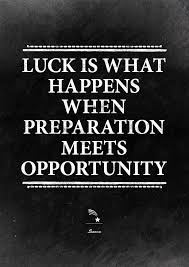 Preparation Quotes Gorgeous Luck Is When Preparation Meets Opportunity Seneca Quote Startup