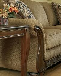 fabric sofa with wood trim fabric sofa with wood trim 94 white sofa with wood trim