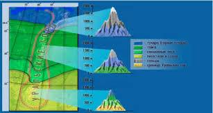 Реферат по географии Природные ресурсы Урала Реферат Горный рельеф увеличивает это разнообразие вызывая появление на Урале высотных поясов и создавая различия между западными и восточными склонами