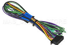 kenwood car audio and video wire harness kenwood dnx 6040ex dnx6040ex genuine wire harness pay today ships today