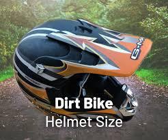 Bike Helmet Size Chart Dirt Bike Helmet Size Chart Complete Guide Motoshark Com