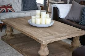restoration hardware coffee table wood