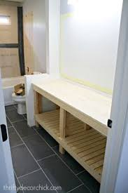 building your own bathroom vanity. Finished DIY Bathroom Vanity! Building Your Own Vanity