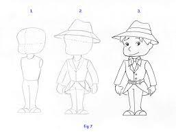 How To Draw A Detective Enqu Tes Policier Pinterest