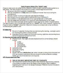 Soap Progress Note Soap Note Template 10 Free Word Pdf Documents Download