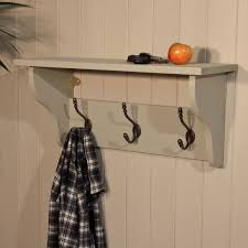 Shelf And Coat Rack Furniture Modern and Simple Wall Coat Rack With Shelf Nu 40