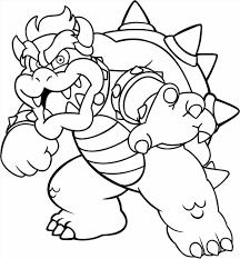 Small Picture Bowser Coloring Pages creativemoveme