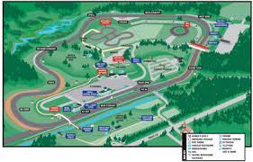 lime rock park race track map