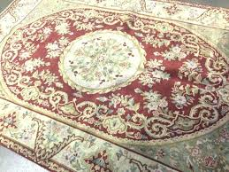qvc area rugs royal palace area rugs 6 x 9 rust beige french oriental rug wool