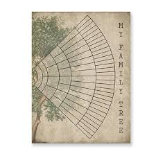 Genealogy Fan Chart Us 2 57 20 Off 6 Generation Family Tree Fan Chart Vintage Wall Art Canvas Poster Print Ancestry Genealogy Picture Painting Home Wall Art Decor In