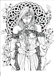 Fantasy Coloring Pages 43604