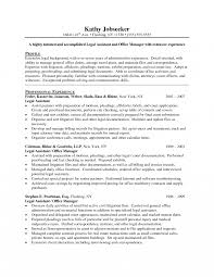 Real Estate Resume Templates Free Legal Assistant Resume Templates Free Secretary Cv Example 48