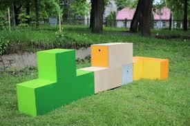 tetris furniture. This TetrisInspired Adaptable Urban Furniture Brings Fun To Any Tetris