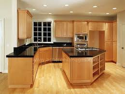 maple kitchen cabinets with black appliances. Reworking.co Maple Kitchen Cabinets New Interior Design Cream With Black Appliances