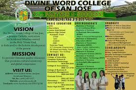 Word College Divine Word College Of San Jose