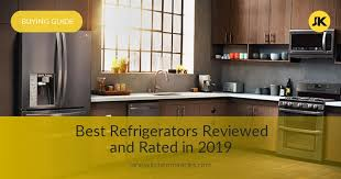 Samsung Refrigerator Comparison Chart 10 Best Refrigerators Reviewed Compared Rated In 2019