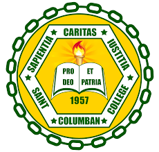 the seal of saint columban college is being adopted with the form and descriptions that symbolize her mission statement