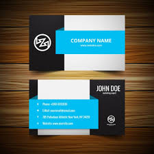 visting card format stylish visiting card template vector free download