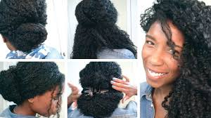 Quick Back To School And Office Hairstyles For Curly Hair Natural