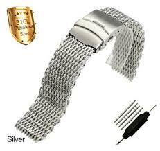 <b>ZLIMSN</b> Stainless Steel <b>Bracelet Strap Watch Mesh Replacement</b> ...