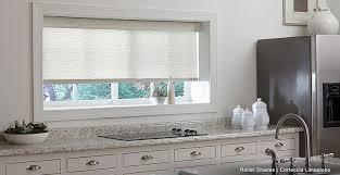 flower shades kitchen window treatments