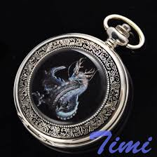 online buy whole rare pocket watch from rare pocket cool unique dragon mens rare mechanical pocket watch mainland