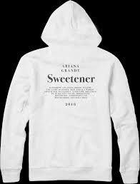 Whats In Ariana Grandes Sweetener Merch Collection You