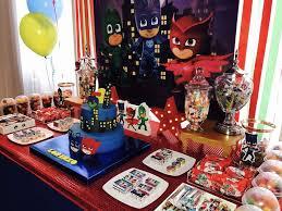 Pj Mask Party Decorations PJ Masks Birthday Party Ideas Pj mask Pj and Masking 60
