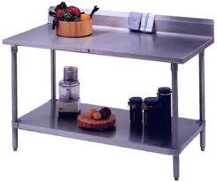stainless kitchen work table: kitchen island work table w stainless steel shelf
