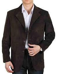 Gnao Mens Business Casual 3 Button Corduroy Elbow Patch