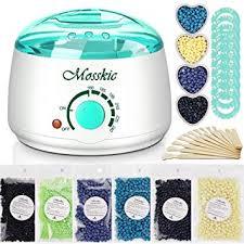Waxing Kit, Mosskic Wax Warmer Hair Removal ... - Amazon.com