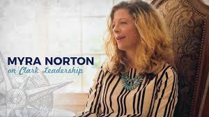 Clark Leadership: Myra Norton Testimonial - YouTube