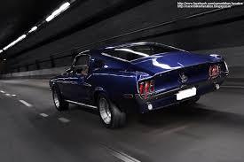 Car & Bike Fanatics: 1968 Ford Mustang GT Fastback Wallpaper