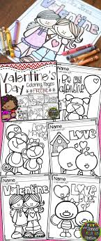 Valentine S Day Coloring Pages Freebie