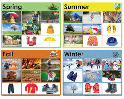 Seasons Chart Kindergarten The Weather And The Four Seasons Books And Activities Kidssoup