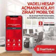 Ziraat Bankası - Vadeli hesap açmanın kolayı Ziraat...   Fa