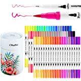 Ohuhu Color Chart Amazon Com 80 Colors Alcohol Markers Ohuhu Dual Tips