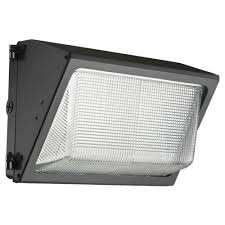 Outdoor Wall Pack Led Lighting Lithonia Lighting Bronze Outdoor Integrated Led 5000k Wall