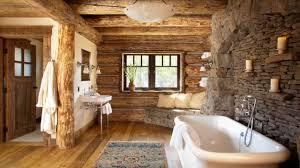 Cabin Bathroom Log Cabin Bathroom Ideas Bathroom