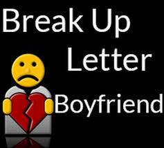 Breakup Letters Break Up Letter to Boyfriend - Free Letters