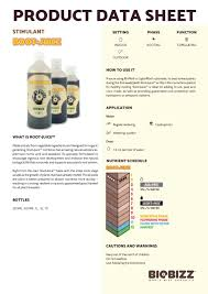 Biobizz Root Juice Humic Acid Seaweed Root Stimulant