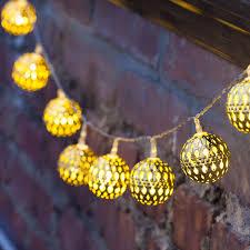 outdoor moroccan lighting. Luxurious Vintage String Lights Idea For Outdoor Moroccan Lighting