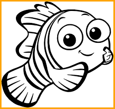 Printable Finding Nemo Coloring Book Free Download Template Crush
