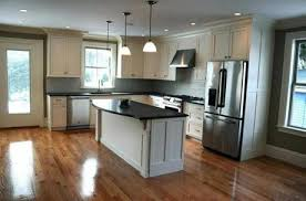 White Kitchen Cabinets With Black Countertops New Photos Colonial In Milton Photo 48 Of 48 Pictures The Boston Globe