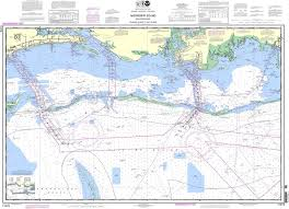 Noaa Chart 11373 Mississippi Sound And Approaches Dauphin Island To Cat Island