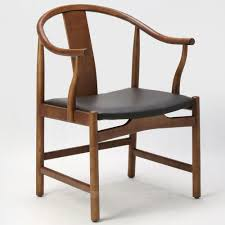 dining room minimalist brown scandiavian wood armchair cool vintage modern wood chair with leather sitting