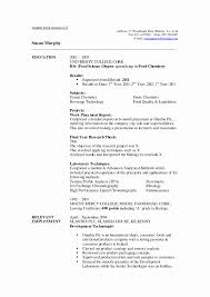 Research Resume Template Most Effective Resume Format Best Of Science Research Resume 11