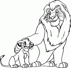 The lion king color page. The Lion King Books Coloring Home
