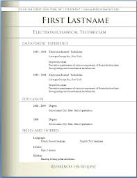Ms Office Templates Resume Modern Ms Word Resume Template Free 12 Free Modern Resume Templates